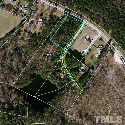 Fuquay Varina Residential Lots & Land Contingent: Harnett Central Road