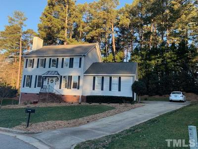Wake County Single Family Home For Sale: 3004 Windcove Place