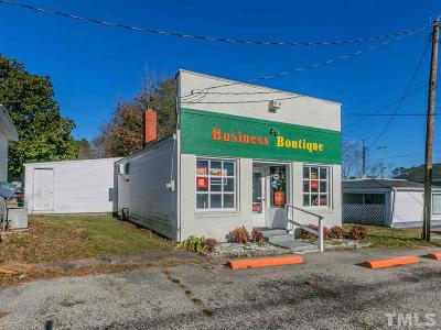 Harnett County Commercial For Sale: 910 W Broad Street
