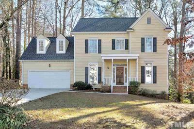 Raleigh Single Family Home Contingent: 11809 Radner Way