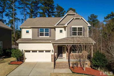 Apex Single Family Home Contingent: 808 Bay Bouquet Lane