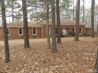 Fuquay Varina Rental For Rent: 5512 Johnson Pond Road