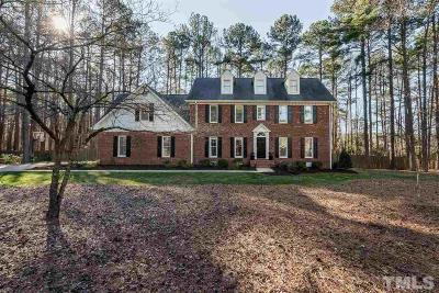 Raleigh Single Family Home Contingent: 713 Misty Isle Place