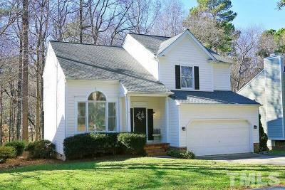 Raleigh Single Family Home Contingent: 8209 Greywinds Drive