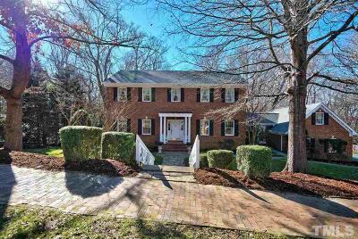 Chapel Hill Single Family Home Pending: 309 N Boundary Street