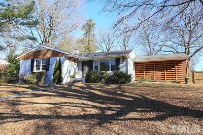 Raleigh Single Family Home For Sale: 1221 Pineview Drive