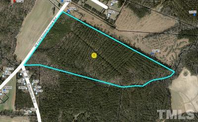 Spring Hope Residential Lots & Land For Sale: Old Spring Hope Road