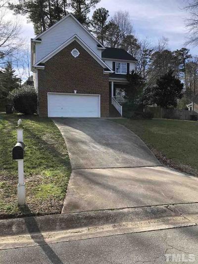 Durham Rental For Rent: 3310 Middlebrook Court