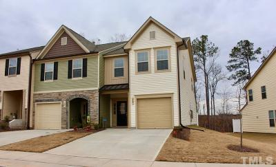 Clayton NC Townhouse For Sale: $197,500