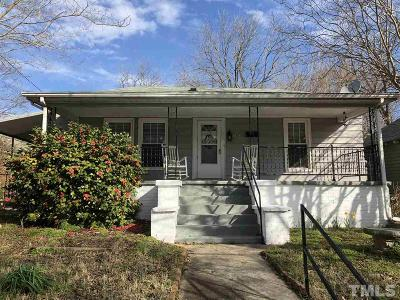Raleigh Single Family Home For Sale: 1207 E Martin Street