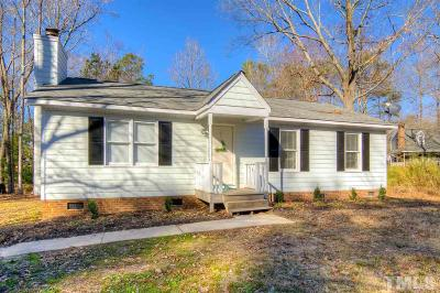 Knightdale Single Family Home Contingent: 300 S Bend Drive