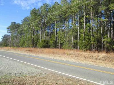 Chatham County Residential Lots & Land Contingent: 3037 Mt View Church Road