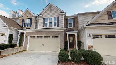 Wake County Townhouse For Sale: 8304 Yaxley Hall Drive