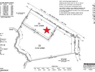 Granville County Residential Lots & Land For Sale: Lot 13R Joe Pruitt Road