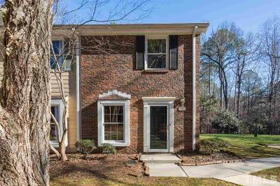 Cary Townhouse For Sale: 220 Colonial Townes Court