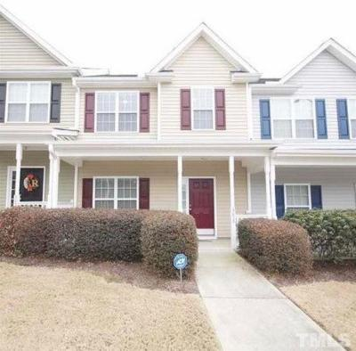 Raleigh Townhouse For Sale: 3853 Volkswalk Place