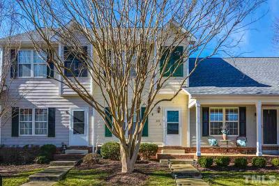 Holly Springs Townhouse For Sale: 249 Commons Drive
