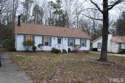 Durham Single Family Home For Sale: 3517 Marquis Drive