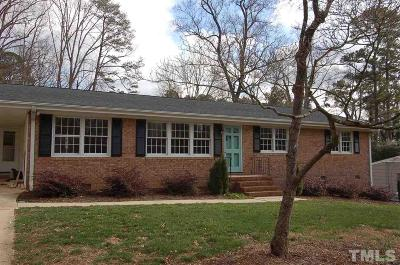 Raleigh Rental For Rent: 4224 Rowan Street