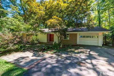 Orange County Single Family Home Contingent: 409 N Elliott Road