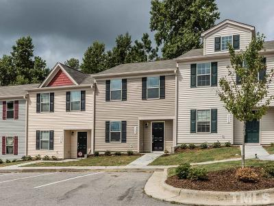 Raleigh Townhouse For Sale: 3560 Aldie Court