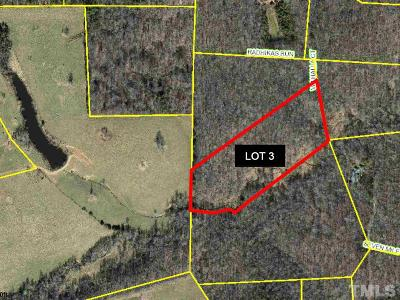 Orange County Residential Lots & Land For Sale: Lot 3 Valhalla Court