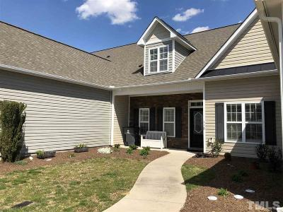 Clayton NC Townhouse For Sale: $197,800