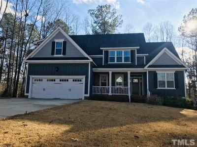 Johnston County Single Family Home For Sale: 165 Old York Circle