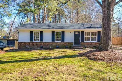 Garner Single Family Home Pending: 1512 Foxwood Drive