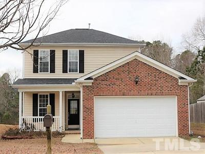 Fuquay Varina Rental For Rent: 634 Cotton Brook Drive