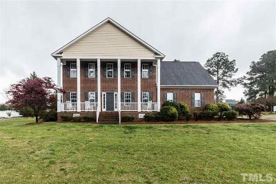 Four Oaks Single Family Home For Sale: 113 Carroll Drive