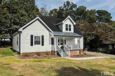 Raleigh Single Family Home For Sale: 2343 Stevens Road