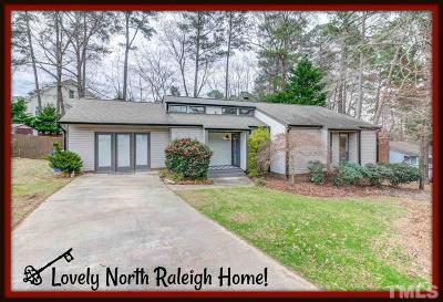 Raleigh Single Family Home For Sale: 301 Ashebrook Drive