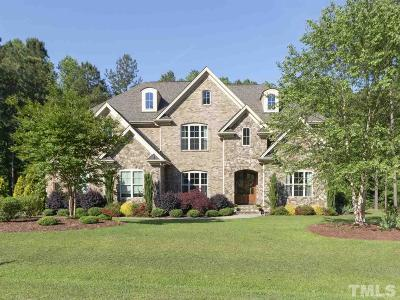 Fuquay Varina Single Family Home Contingent: 5132 Doughtymews Lane