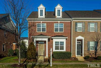 Raleigh Townhouse For Sale: 3630 Olympia Drive