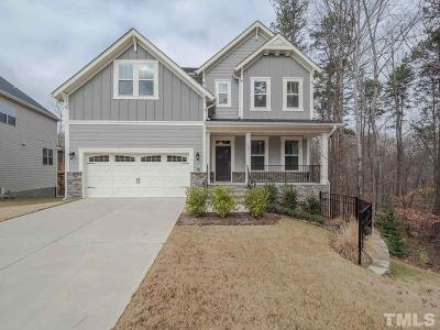 Cary NC Single Family Home For Sale: $612,000