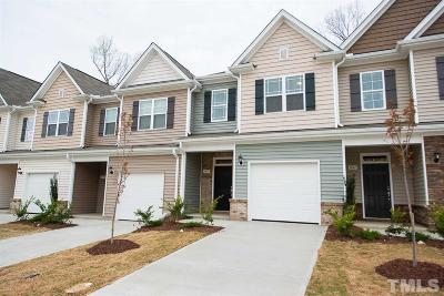 Raleigh Townhouse For Sale: 3635 Watermist Lane #14