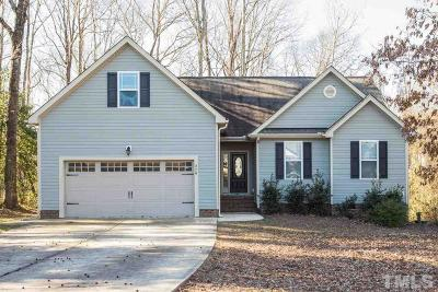Willow Spring(S) Single Family Home Pending: 279 Buckhaven Drive
