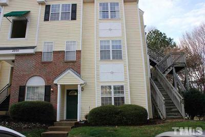 Raleigh Rental For Rent: 2200 Mountain Mist Court #103
