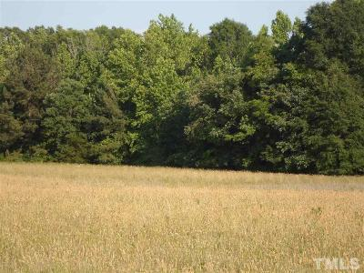 Granville County Residential Lots & Land For Sale: 621 Puckett Road