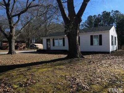 Fuquay Varina Single Family Home For Sale: 813 W Academy Street