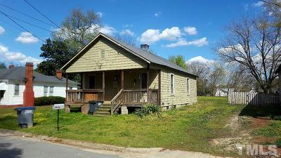 Rocky Mount NC Single Family Home For Sale: $39,900