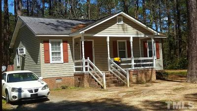 Rocky Mount NC Single Family Home For Sale: $49,900