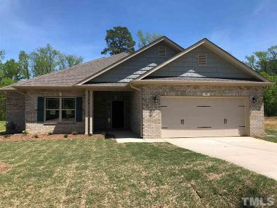Lillington Single Family Home For Sale: 93 Woodwater Circle