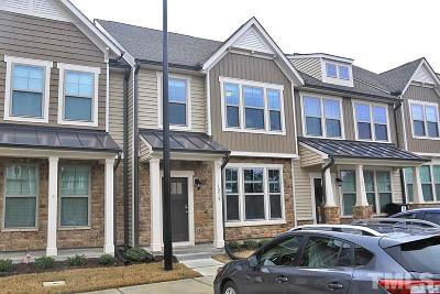 Durham Townhouse For Sale: 1218 Metropolitan Drive