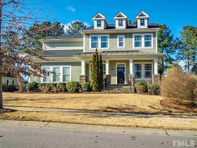 Wake Forest Single Family Home For Sale: 1321 Plunket Drive