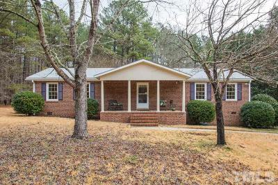 Chapel Hill Single Family Home For Sale: 3112 Cool Spring Drive