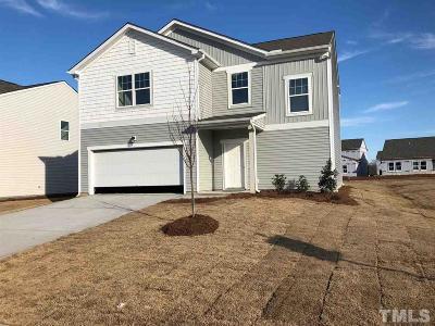 Zebulon Single Family Home Pending: 612 Berkeley Glen Road #Lot 3