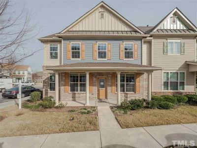 Raleigh Townhouse For Sale: 9903 Remedios Walk
