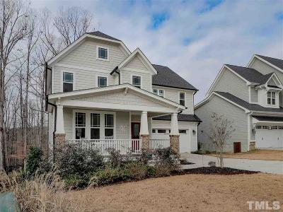 Wake County Single Family Home For Sale: 253 Sunset Bluffs Drive